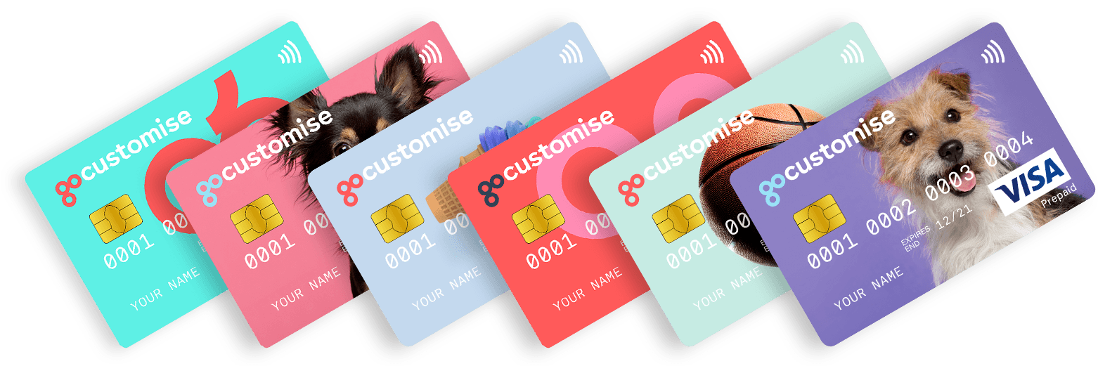 custom child bank card