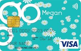 daisies contactless card