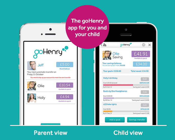 children financial app