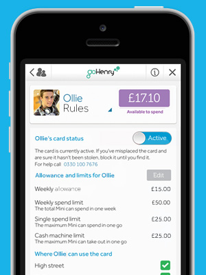 child secure money app